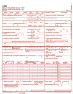 How to Fill Out an Insurance Claim Form- HCFA
