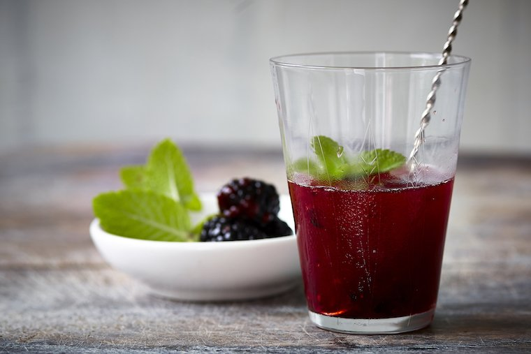 Blackberries add an antioxidant boost to this late-summer ...